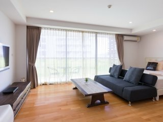 Studio Apartment with SofaBed_5L Garden View - Rocco HuaHin Condominium