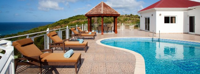 Villa Soleil Levant 1 Bedroom (A Roomy Villa Located On The Heights Of Toiny