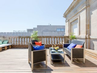 C103 - Luxury penthouse with terrace Placa Catalunya I