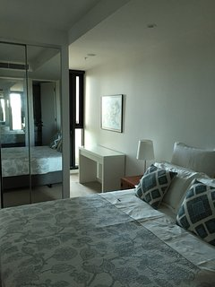 Master Bedroom with Private Balcony for Romantic Evenings