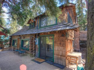 Find Complete Peace in Authentic Log Cabin ~ RA867