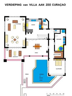 First floor with MBR, living room and kitchen