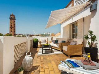 NEW! CENTRAL PENTHOUSE WITH PRIVATE TERRACE + WiFi + A/C