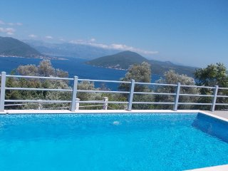 Breathtaking views from Villa D & pool, Zvinje, Herceg Novi