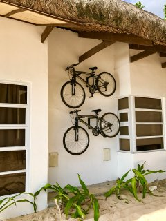 Bikes that you can use to explore the area
