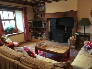Traditional country cottage on working farm, situated on northern Pennines.