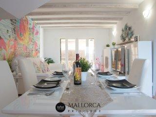 Casa Violeta Bonito Duplex con Piscina en Cala Romantica. 6 pers. + Bebe