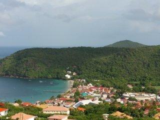 Location saisonniere Anses d'Arlet Martinique vue magnifique sur la mer Caraibes