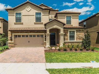 Gorgeous 8BR 5bth Champions Gate home w/pool/spa/theater & games rooms from $263