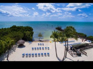 Tropical 2 Bedroom Ocean View Suites (E) - NEW POOL, Dock & Marina - Near all at