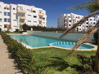 Appartement avec piscine à la Plage de ACHAKAR