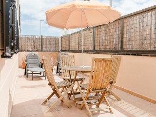 Adosado de 3 dormitorios con terraza y vistas al mar