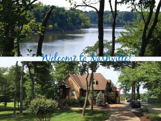 Executive Home on Cumberland River near Nashville, TN - sleeps up to 8