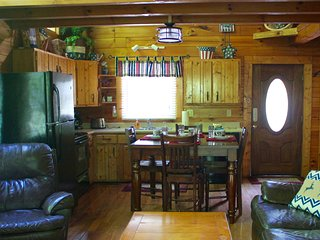 Come inside. Relax and enjoy a nice, clean cabin with all the comforts of home.