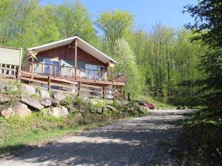Chalet à louer Mont-Tremblant avec SPA, Billard, Ping-pong, Kayaks, mini bar...