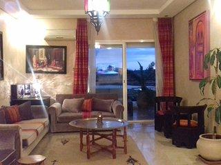 bel appartement à louer  une résidence vue sur mer