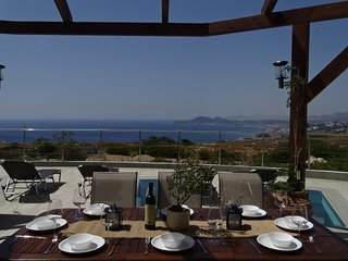 Faliraki View Villa -Exceptional -in-outdoor pool with breathtaking Ocean view
