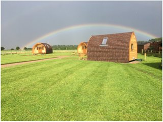Bracken Burrows, Oso Royal Glamping Pod in the heart of East Yorkshire