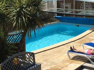 Belle Villa vue Mer avec Piscine privee couverte chauffee 4 a 9 pers