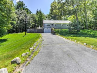 Quaint 3BR Mashpee w/Tranquil Location!