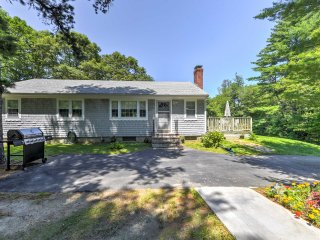 Cape Cod Home on 1 Acre - 5 Mins to Wakeby Pond!