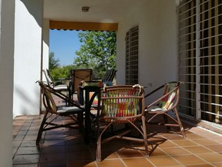 Chalet with 3 bedrooms in Serranillos Playa, Toledo, with furnished garden