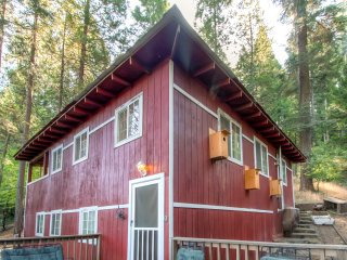 Arnold Cabin w/Nature Views in Blue Lake Springs!