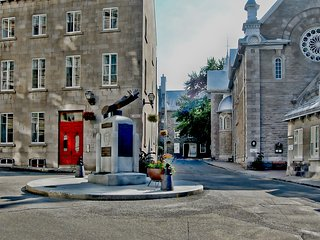 Historic 2BR Quebec City Condo w/ Balcony Views!
