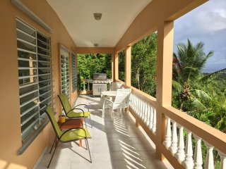 Casa Dos Chivos - Large 1-Bedroom Hillside House with Spectacular Ocean Views!