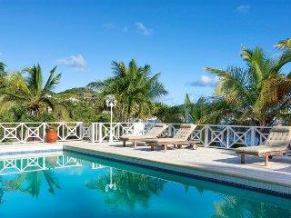 CORALITA...Irma Survivor! 4 BR casual villa in French St Martin on  Oyster Pond