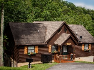 Idyllic Cabin w/ Hot Tub < 2 Miles to Dollywood!