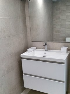 Bedroom 3: offers a separate bathroom with shower, lavabo and toilet