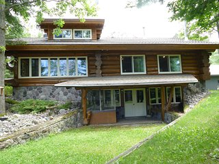 NEW! 4BR Deer River Cabin w/Lake and Forest Views!