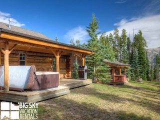 Big Sky Moonlight Basin | Cowboy Heaven Cabin 7 Rustic Ridge