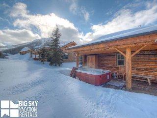 Big Sky Moonlight Basin | Cowboy Heaven Cabin 7 Rustic Ridge