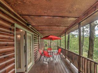 NEW! 'Point of View' 3BR Tellico Plains Cabin!