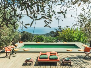 Porto Ercole Villa; Superb Mediterranean Vistas, Pool, & Italian Lifestyle on