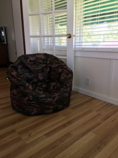 Bean bag in Dining area
