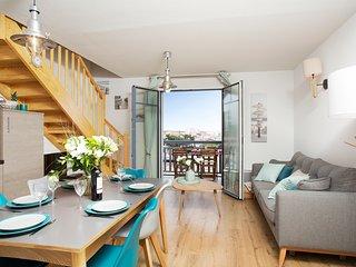 Appartement exceptionnel  idéalement situé - 1ère ligne mer – piscine – Jacuzzi