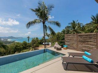 Villa Nuea, 2 bdrm pool villa w. sea view at Comoon Boutique Villas
