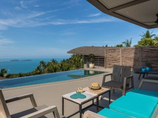 Villa Lanta, 2 bdrm pool villa w. sea view at Comoon Boutique Villas