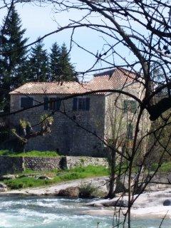 Le moulin avec gîte et meunerie