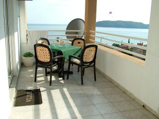 Panoramic view apartment in Rafailovici near Budva