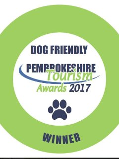 Proud to be winners of Dog Friendly Accommodation 2017