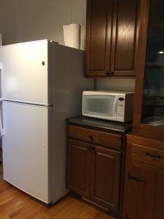 Kitchen - Fridge, Mircowave