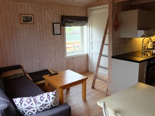 Linbua Studio Cabin in Hemmingodden Lofoten Fishing Lodge