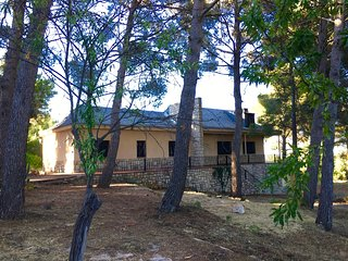 The Chalet La Serrana is located 3km from Buñol, a typical village of Valencia