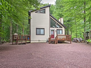 NEW! Pocono Lake 3BR Home In Locust Lake Village!