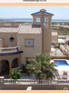 3 bed villa with private pool, sky tv, air con, wi-fi