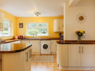 Open plan kitchen, fully equipped with all you need for your stay.